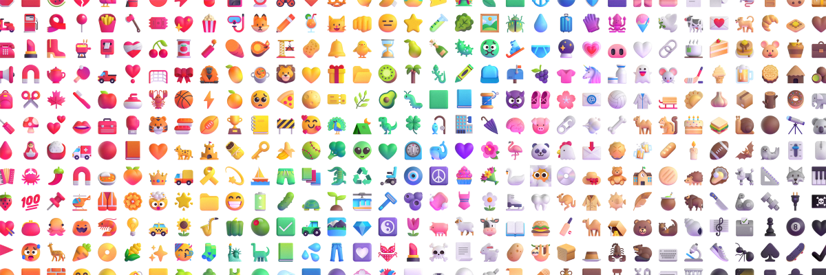 An Emoji For Your Thoughts. Microsoft's new emojis | by Microsoft Design | Microsoft Design | Jul, 2021 | Medium